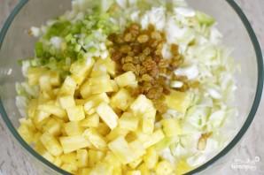 Капуста с ананасом - фото шаг 4