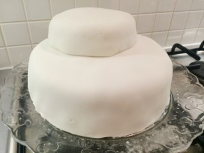 Торт на рубиновую свадьбу - фото шаг 3