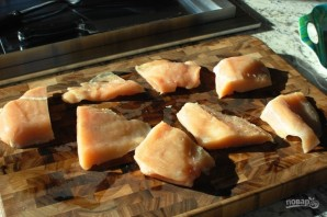 Куриные грудки с сыром в духовке - фото шаг 1