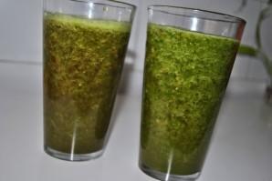 Зеленый коктейль со свеклой - фото шаг 5