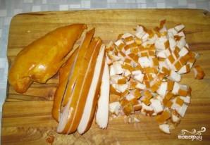 Салат с ананасом, курицей и сыром - фото шаг 1