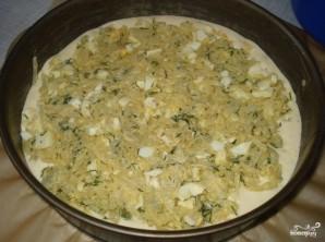 Пирог на ряженке с капустой - фото шаг 4