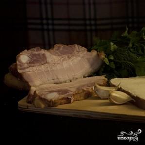 Бутерброд с грудинкой - фото шаг 2