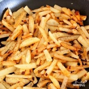Картофель жареный - фото шаг 14