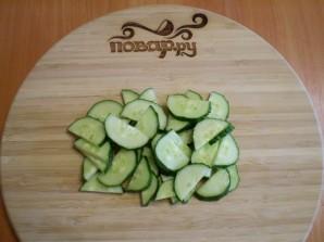 Салат из свежих грибов шампиньонов - фото шаг 5
