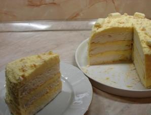 Белковый торт - фото шаг 6