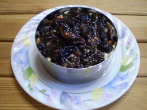 Слоеный грибной салат - фото шаг 7