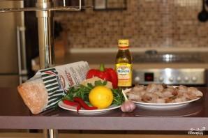 Острые бутерброды с креветками - фото шаг 1
