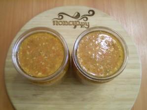 Аджика из помидоров и чеснока - фото шаг 6