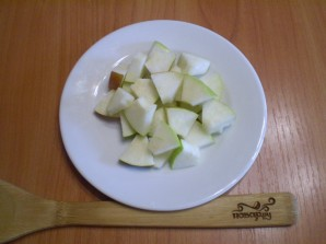 Салат с грушами и яблоками - фото шаг 5