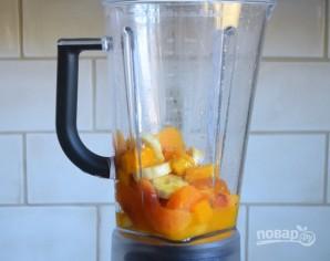 Персиково-манговый смузи - фото шаг 1