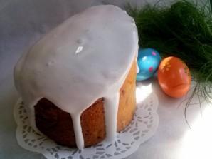 Глазурь для кулича без яиц - фото шаг 4