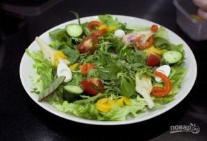 Салат со свежим тунцом - фото шаг 7