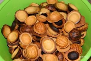 Орешки со сгущенкой классические - фото шаг 5