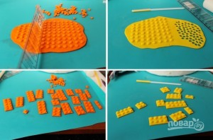 "Торт с человечками ""Лего"" - фото шаг 2"