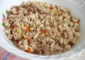 Салат с вареным мясом - фото шаг 3