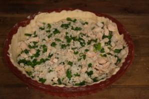 Пирог с курицей и рисом - фото шаг 5