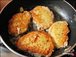 Куриное филе в сырном кляре - фото шаг 5