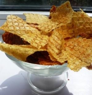 Чипсы из картофельного пюре - фото шаг 5