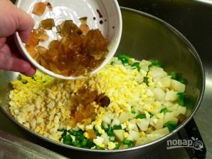 Картофельный салат на гарнир - фото шаг 5