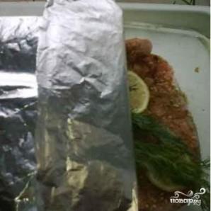 Семга, запеченная в духовке по-королевски - фото шаг 2