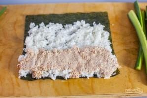 Консервированный тунец с рисом и авокадо - фото шаг 2
