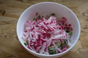 Салат быстрый и вкусный - фото шаг 2