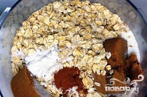Печенье с малиной и овсяными хлопьями - фото шаг 1