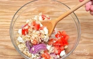 Салат с перловкой - фото шаг 4