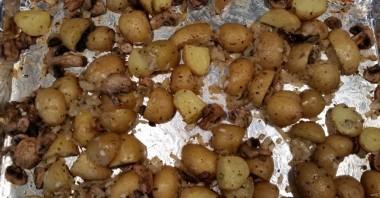 Грибы с картошкой - фото шаг 4