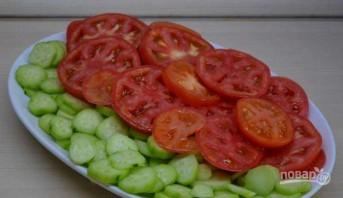 Овощной салат по-грузински с орехами - фото шаг 2