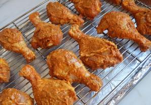 Хрустящая курица в духовке - фото шаг 7