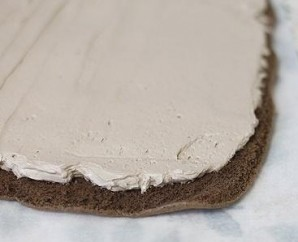 Рулет из печенья без выпечки - фото шаг 4