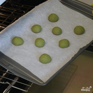 Печенье с зеленым чаем - фото шаг 10