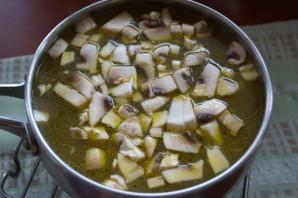 Суп с фаршем и рисом - фото шаг 7
