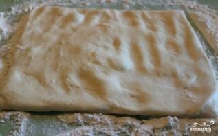 Яблочный пирог на сковороде - фото шаг 4