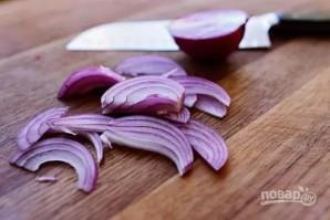Теплый салат с куриной грудкой и овощами - фото шаг 2
