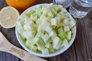 Варенье из кабачков с апельсином и лимоном - фото шаг 2