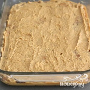 Тыквенные пирожные с карамелью и шоколадом - фото шаг 5