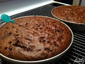 Торт на юбилей - фото шаг 9
