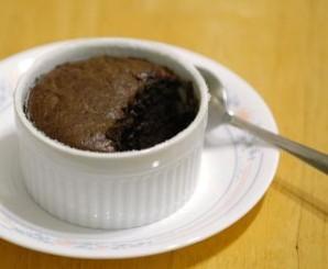 Суфле из черного шоколада - фото шаг 10