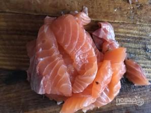 Горбуша малосольная быстро и вкусно - фото шаг 2