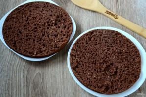 Нежный и вкусный тортик на кефире - фото шаг 7