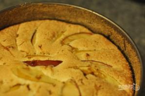 Шарлотка из яблок в духовке - фото шаг 4