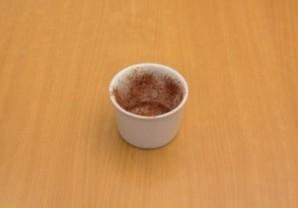 Шоколадный флан - фото шаг 7
