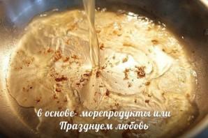 Паста феттучини с креветками - фото шаг 3