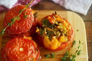 Фаршированные тунцом и каперсами помидоры - фото шаг 8