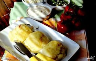 Кукурузные шарики с сыром - фото шаг 6