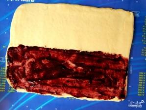 Пирожки с черникой - фото шаг 3