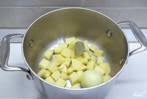 Грибная солянка без капусты - фото шаг 1